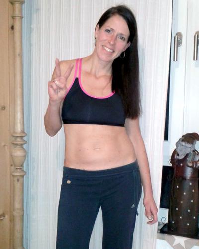 Sonja - von Hosengröße 40 auf 36 in drei Monaten! | Sonja - from trouser size 40 to 36 in three months!
