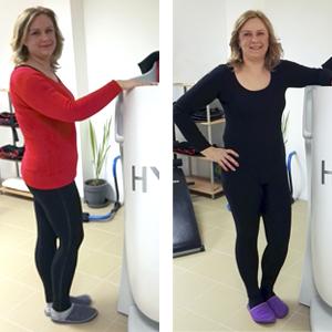 HYPOXI hat mir geholfen Gewicht reduzieren