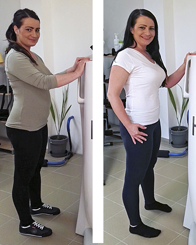 Andrea - nach der Schwangerschaft HYPOXI-Training | Andrea - For me the best method after pregnancy