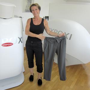 Von Kleidergröße 40 zu 36 | HYPOXI