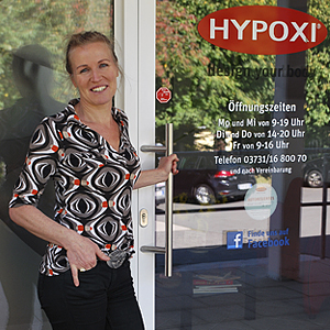 Dorothea Köcher, HYPOXI-Studio Freiberg