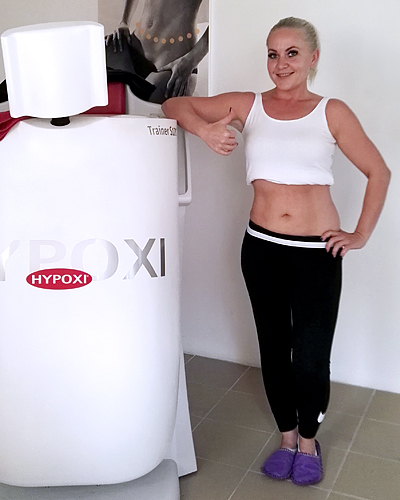 Erika – HYPOXI hat mich überzeugt, deshalb habe ich mit dem Training begonnen | Erika – HYPOXI convinced me and therefore I started with the training