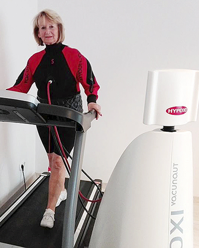 Christine - Erfolg mit dem HYPOXI-Training auch mit über 70! | Christine - Successful with HYPOXI even over the age of 70!